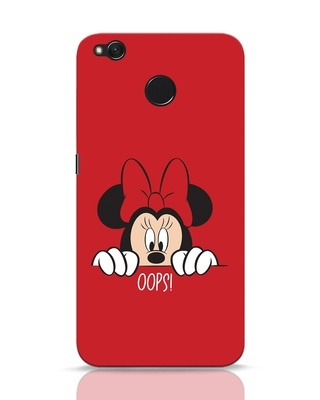 Shop Oops Minnie Xiaomi Redmi 4 Mobile Cover-Front