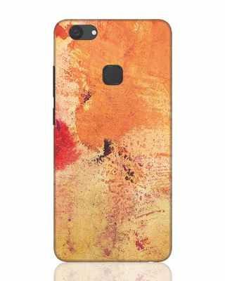 Shop Orange Red Rust Vivo V7 Plus Mobile Cover-Front