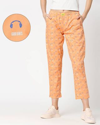 Shop Orange Rush AOP Pyjama-Front
