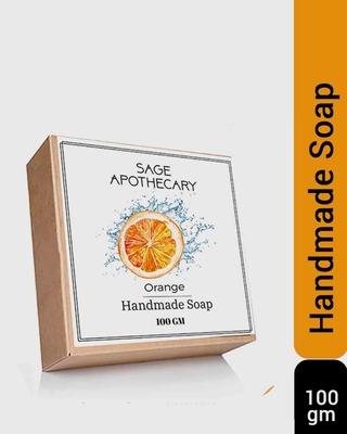 Shop Orange Soap-Front