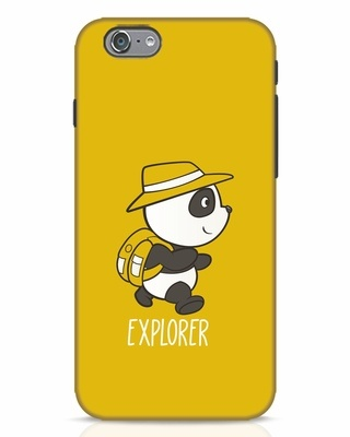 Shop Panda Explorer iPhone 6 Mobile Cover-Front