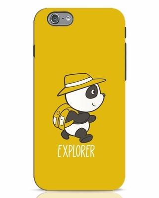 Shop Panda Explorer iPhone 6 Mobile Cover-Front