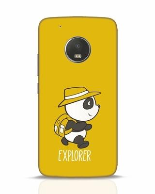 Shop Panda Explorer Moto G5 Plus Mobile Cover-Front