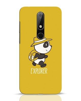 Shop Panda Explorer Nokia 6.1 Plus Mobile Cover-Front