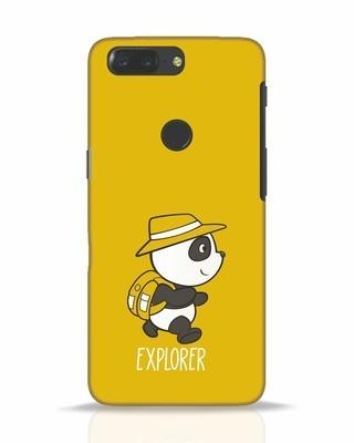 Shop Panda Explorer OnePlus 5T Mobile Cover-Front