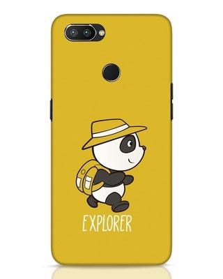 Shop Panda Explorer Realme 2 Pro Mobile Cover-Front