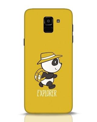 Shop Panda Explorer Samsung Galaxy J6 Mobile Cover-Front