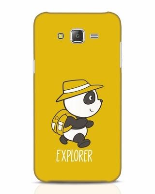 Shop Panda Explorer Samsung Galaxy J7 Mobile Cover-Front