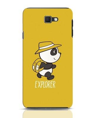 Shop Panda Explorer Samsung Galaxy J7 Prime Mobile Cover-Front