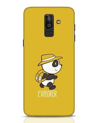 Shop Panda Explorer Samsung Galaxy J8 Mobile Cover-Front