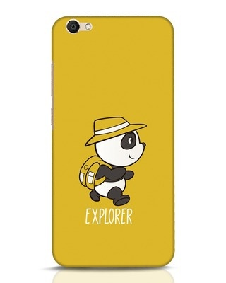 Shop Panda Explorer Vivo V5 Mobile Cover-Front