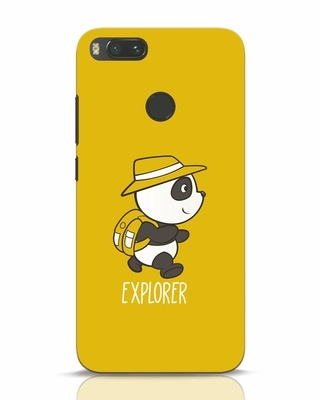 Shop Panda Explorer Xiaomi Mi A1 Mobile Cover-Front