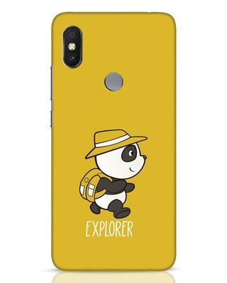 Shop Panda Explorer Xiaomi Redmi Y2 Mobile Cover-Front