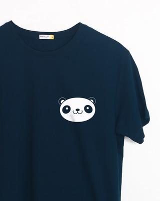 Buy Panda Face Pocket Half Sleeve T-Shirt Online India @ Bewakoof.com
