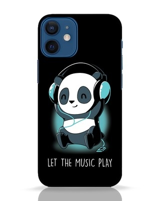 Shop Panda Headphones iPhone 12 Mini Mobile Cover-Front