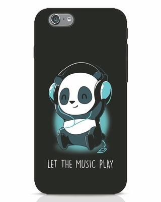 Shop Panda Headphones iPhone 6s Mobile Cover-Front
