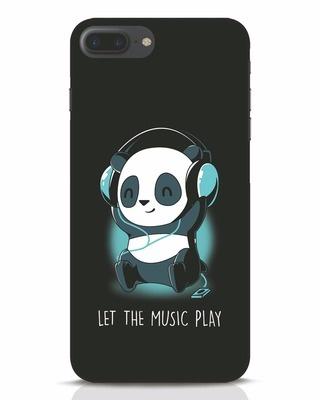 Shop Panda Headphones iPhone 7 Plus Mobile Cover-Front