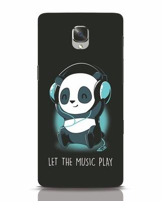 Shop Panda Headphones OnePlus 3T Mobile Cover-Front