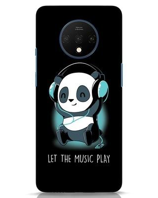 Shop Panda Headphones OnePlus 7T Mobile Cover-Front