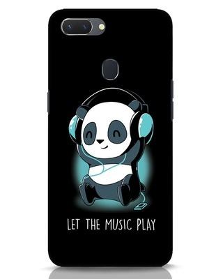Shop Panda Headphones Realme 2 Mobile Cover-Front