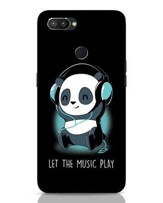 Shop Panda Headphones Realme 2 Pro Mobile Cover-Front