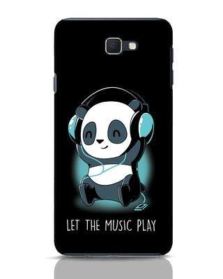 Shop Panda Headphones Samsung Galaxy J7 Prime Mobile Cover-Front