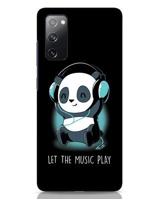 Shop Panda Headphones Samsung Galaxy S20 FE Mobile Cover-Front