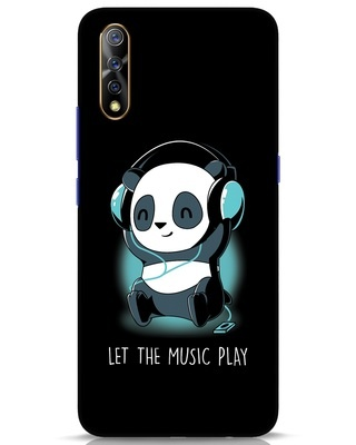 Shop Panda Headphones Vivo S1 Mobile Cover-Front