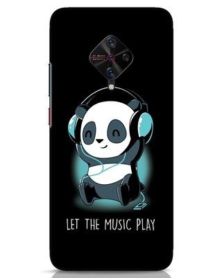 Shop Panda Headphones Vivo S1 Pro Mobile Cover-Front