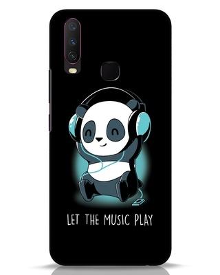 Shop Panda Headphones Vivo Y17 Mobile Cover-Front