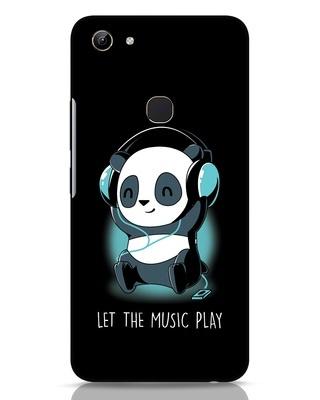 Shop Panda Headphones Vivo Y81 Mobile Cover-Front