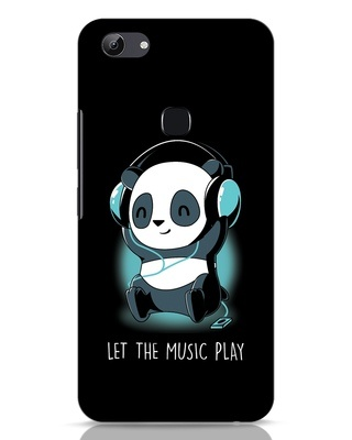 Shop Panda Headphones Vivo Y83 Mobile Cover-Front