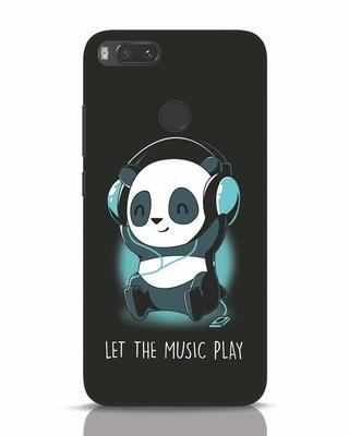 Shop Panda Headphones Xiaomi Mi A1 Mobile Cover-Front