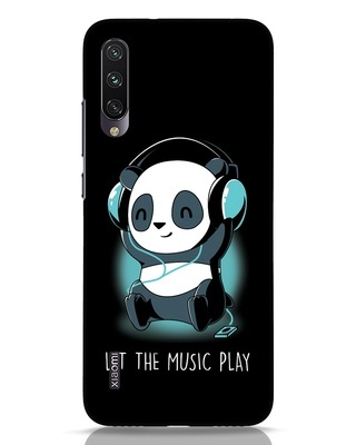 Shop Panda Headphones Xiaomi Mi A3 Mobile Cover-Front
