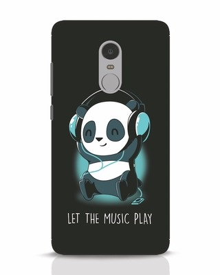 Shop Panda Headphones Xiaomi Redmi Note 4 Mobile Cover-Front