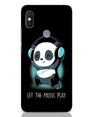 Shop Panda Headphones Xiaomi Redmi Y2 Mobile Cover-Front
