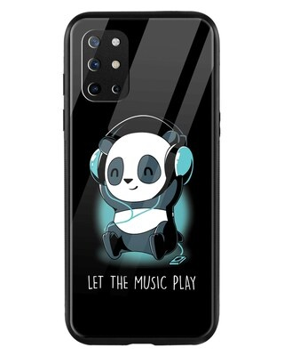 Shop Panda Music Play OnePlus 8T Mobile Cover-Front