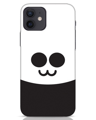 Shop Panda Smile iPhone 12 Mobile Cover-Front