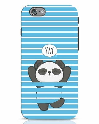 Shop Panda Yay iPhone 6 Mobile Cover-Front