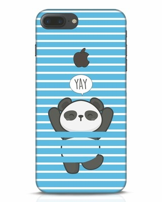 Shop Panda Yay iPhone 7 Plus Logo Cut Mobile Cover-Front