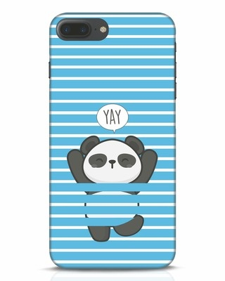 Shop Panda Yay iPhone 7 Plus Mobile Cover-Front