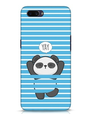 Shop Panda Yay Oppo A3S Mobile Cover-Front