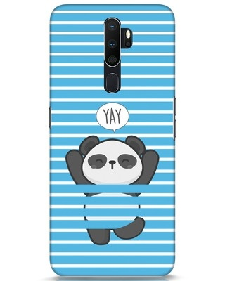 Shop Panda Yay Oppo A5 2020 Mobile Cover-Front