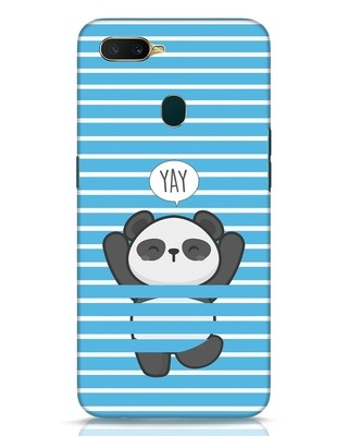 Shop Panda Yay Oppo A7 Mobile Cover-Front