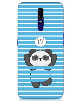 Shop Panda Yay Oppo F11 Mobile Cover-Front