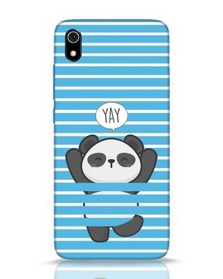 Shop Panda Yay Xiaomi Redmi 7A Mobile Cover-Front