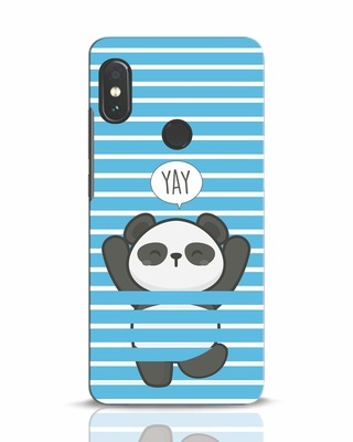 Shop Panda Yay Xiaomi Redmi Note 5 Pro Mobile Cover-Front