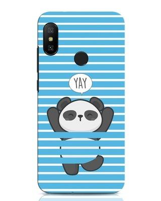 Shop Panda Yay Xiaomi Redmi Note 6 Pro Mobile Cover-Front