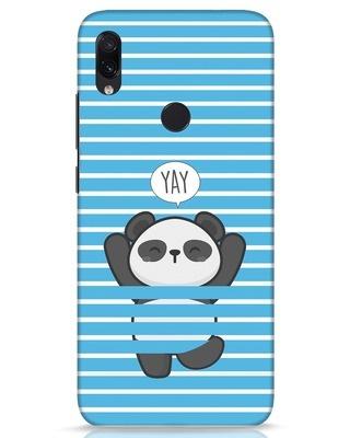 Shop Panda Yay Xiaomi Redmi Note 7s Mobile Cover-Front