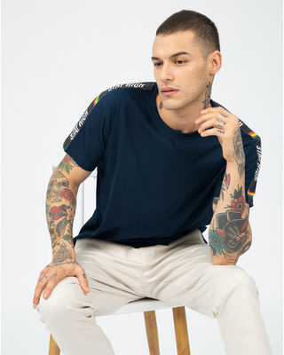 Shop Panel Stay High Sports Trim T-Shirt-Front